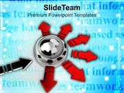 Distribute Work In Between Team PowerPoint Templates PPT Themes And Gr