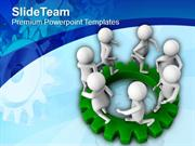 Follow The Team For Success PowerPoint Templates PPT Themes And Graphi