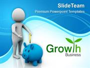 Invest Money For Growth PowerPoint Templates PPT Themes And Graphics 0
