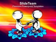 Make Business Partners For Success PowerPoint Templates PPT Themes And