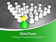 Be The Leader Of Team PowerPoint Templates PPT Themes And Graphics 051