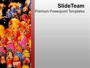 Enjoy The Shopping In Christmas Time PowerPoint Templates PPT Themes A