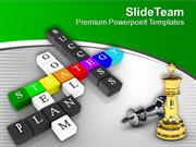 Make A Strategy For Success PowerPoint Templates PPT Themes And Graphi