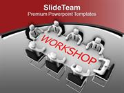 Organize Workshop For Employees PowerPoint Templates PPT Themes And Gr