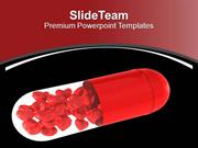 Take The Right Pills Health Theme PowerPoint Templates PPT Themes And