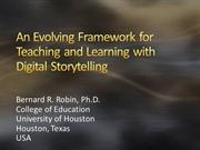 Evolving Framework for Teaching and Learning withDS
