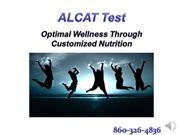 ALCAT presentation for Chris