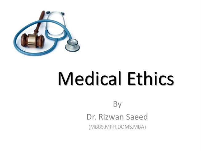 Medical ethics amdc 4 yr authorstream toneelgroepblik