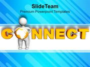 Connect With Global Marketing PowerPoint Templates PPT Themes And Grap