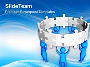 Create Circle For Better Business PowerPoint Templates PPT Themes And