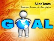 Decide Your Goal And Achieve PowerPoint Templates PPT Themes And Graph