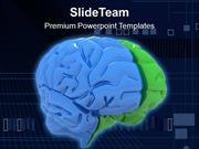 Human Brain Health Theme PowerPoint Templates PPT Themes And Graphics