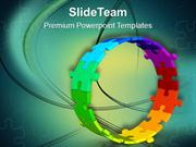Maintain The Circle For Business Growth PowerPoint Templates PPT Theme