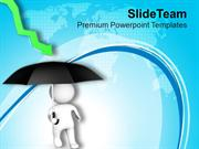 Protect Business From Financial Crisis PowerPoint Templates PPT Themes