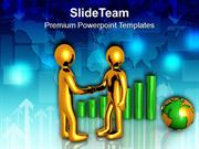 Shake Hands With Clients For Financial Growth PowerPoint Templates PPT