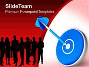Share Targets With Team PowerPoint Templates PPT Themes And Graphics 0