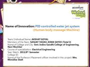 PID controlled water jet system