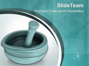 Ayurvedic Medicine Maker Symbol PowerPoint Templates PPT Themes And Gr