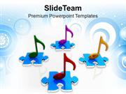 Colorful Musical Notes PowerPoint Templates PPT Themes And Graphics 05