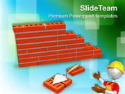 Construction Of Building PowerPoint Templates PPT Themes And Graphics