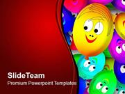 Smiling Faces Joy PowerPoint Templates PPT Themes And Graphics 0513