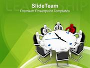 Time To Become A Leader Business Concept PowerPoint Templates PPT Them