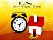 Time To Buy The Property Real Estate PowerPoint Templates PPT Themes A
