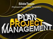 Business Planning And Project Management PowerPoint Templates PPT Them