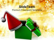 Christmas Gifts And Celebration PowerPoint Templates PPT Themes And Gr
