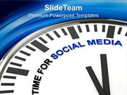 Motivation For Information Support Social Media PowerPoint Templates P
