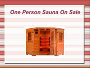 One Person Sauna On Sale