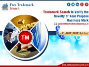 How to Register a Trademark Name in India  Free Trademark Search