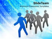 Successful Person With Leadership Skills PowerPoint Templates PPT Them