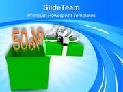 Do The Shopping In Festive Season PowerPoint Templates PPT Themes And