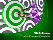 Hit The Target PowerPoint Templates PPT Themes And Graphics 0513