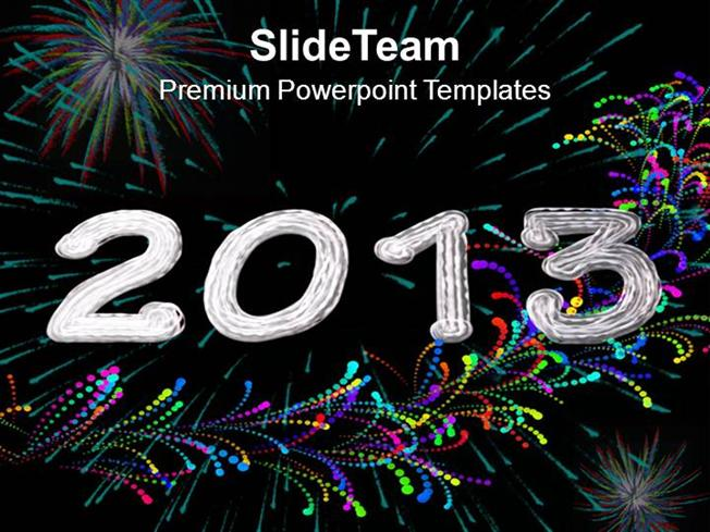 new year celebration theme powerpoint templates ppt themes and gra authorstream