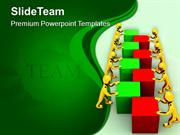 Business Depends On Teamwork PowerPoint Templates PPT Themes And Graph