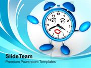 Business Growth Depends On Time PowerPoint Templates PPT Themes And Gr