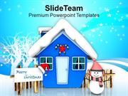Celebrate This Winter With Snow PowerPoint Templates PPT Themes And Gr