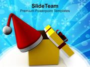 Gift On Christmas Eve PowerPoint Templates PPT Themes And Graphics 041