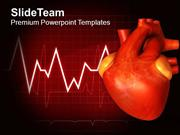 Illustration Of Human Heart PowerPoint Templates PPT Themes And Graphi