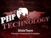 Internet Abstract Concept PHP Technology PowerPoint Templates PPT Them