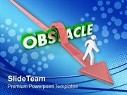 Jump The Obscale To Get Success PowerPoint Templates PPT Themes And Gr