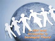 Very Brief Intro to Social Theory 2013