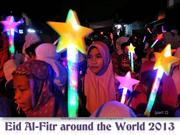 Eid al-Fitr around the World 2013 (part2)