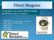 DirectBargains-Buy Watches For Mens Online