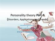 Personality theory Introduction part-8