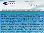 Computer Analysts and Recovery Experts – Care