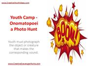 Youth Camp - Onomatopoeia Photo Hunt