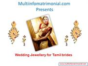 Wedding Jewellery For Tamil Brides